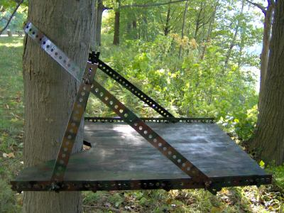 Amazing simple tree stand plans for Climbing tree stand plans